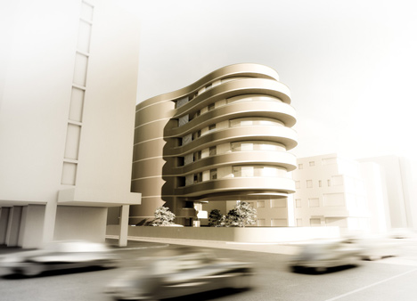 154 Ha-Yarkon Street by Ron Arad