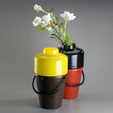 Bucket Vase by Qubus Design studio