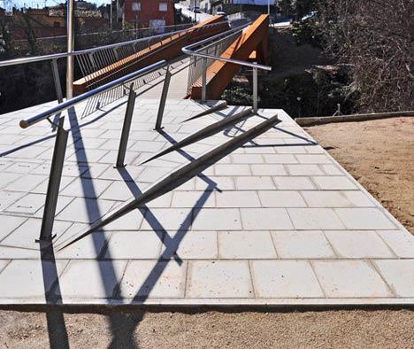Can Gili Footbridge by Alfa Polaris