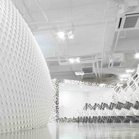 Corian Studio Shanghai by Michael Young