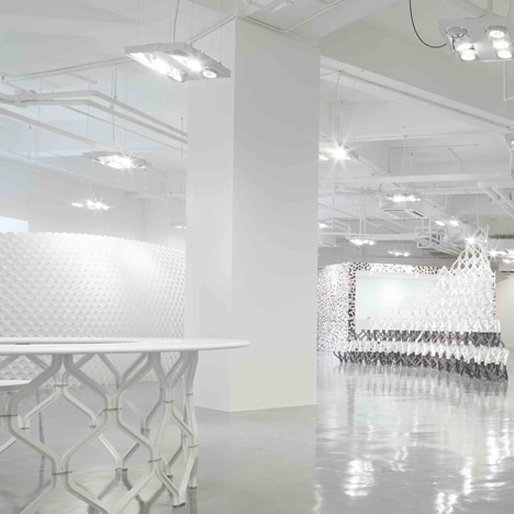 Corian Studio Shanghai by Michael Young
