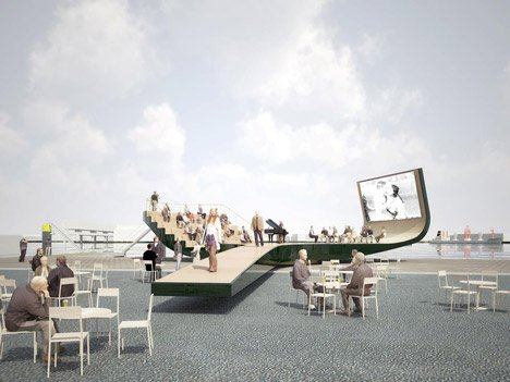 Cultural Stage by NL Architects