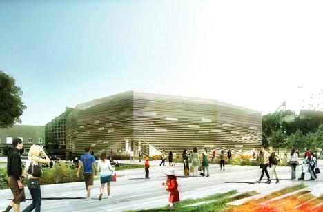 Dalarna Media Arena by ADEPT and Sou Fujimoto