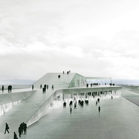 Ferry Terminal by CF Møller