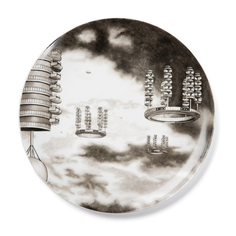 Flying City Tableware by Carsten Höller