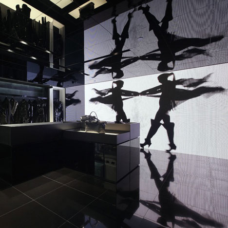 Gareth Pugh store in Hong Kong by Daytrip