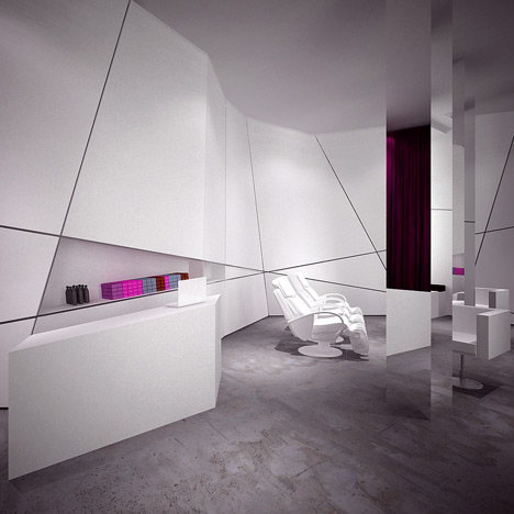 Hair Salon by MOOMOO Architects