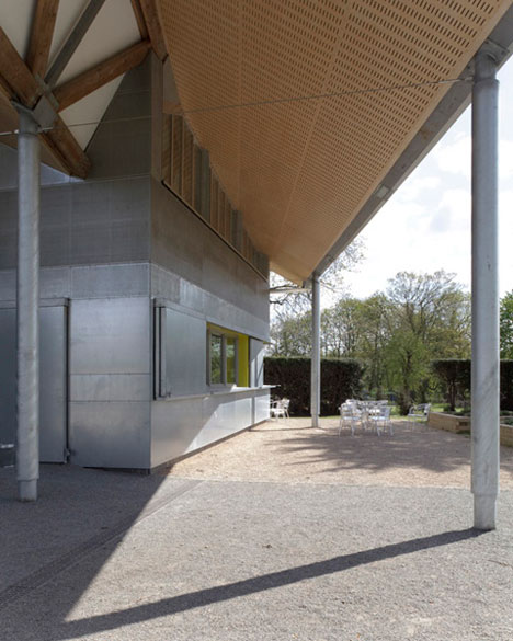 James Leal Centre by Sarah Wigglesworth Architects