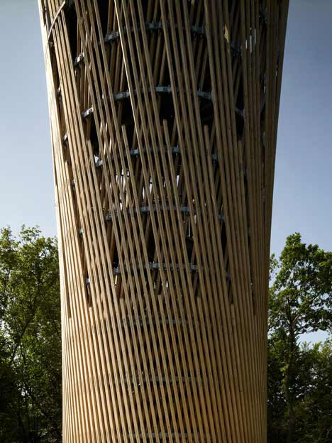 Jueberg Tower by Birk + Heilmeyer Architekten