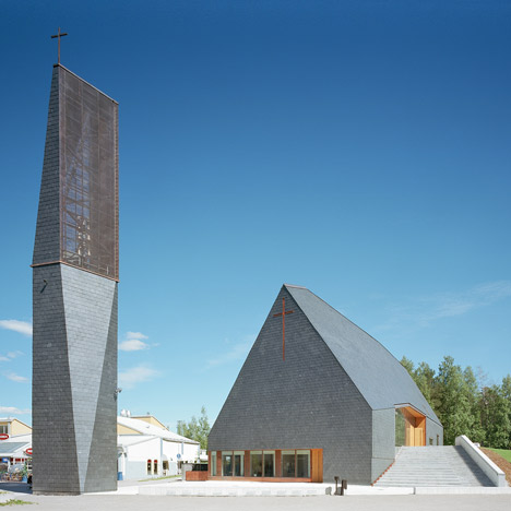Kuokkala Church by Lassila Hirvilammi and Luonti