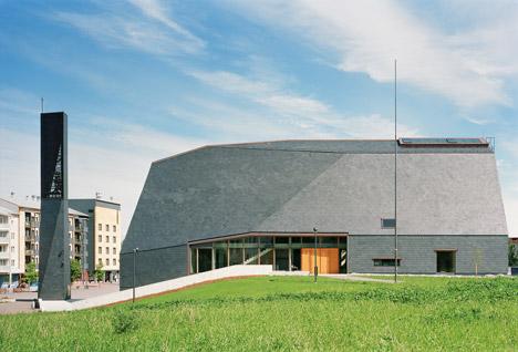 Kuokkala Church by Lassila Hirvilammi