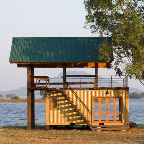 Holiday Cabana at Maduru Oya by Damith Premathilake