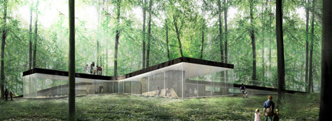 Nature Centre by EFFEKT
