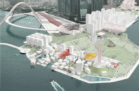 OMA new cultural district in Hong Kong