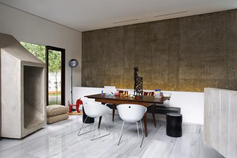 Gray Concrete Kitchen Countertops