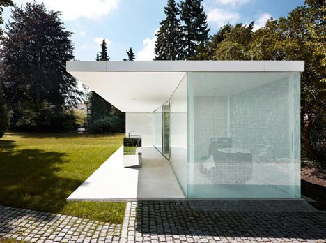 poolhaus by phillipp baumhauer poolhausgarten nurnberg
