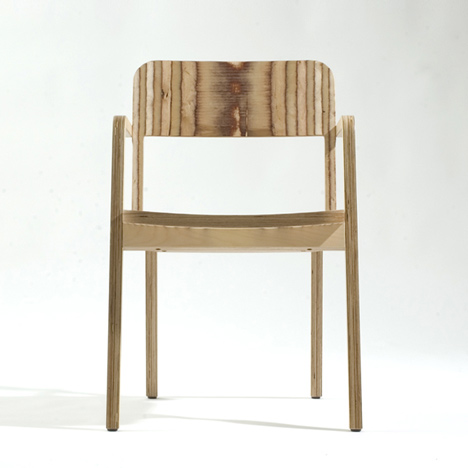 Prater chair by marco dessí