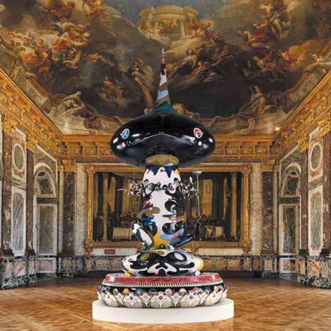 Takashi Murakami at the Château de Versailles