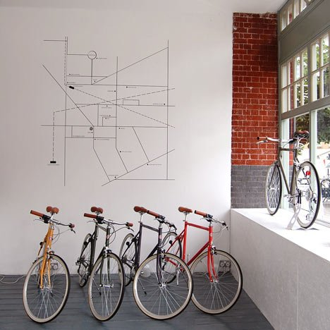 Tokyobike store by Emulsion
