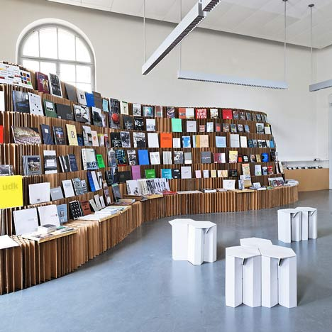 udk bookshop 2010 by dalia butvidaite leonard steidle and johannes drechsler - Bookshelves For Bookstores