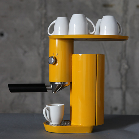 Coffee machine by yaniv berg