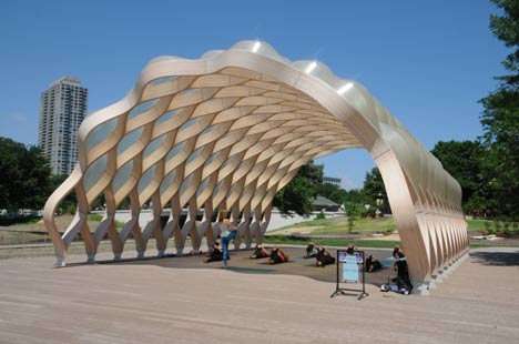 South Pond Pavilion by Studio Gang