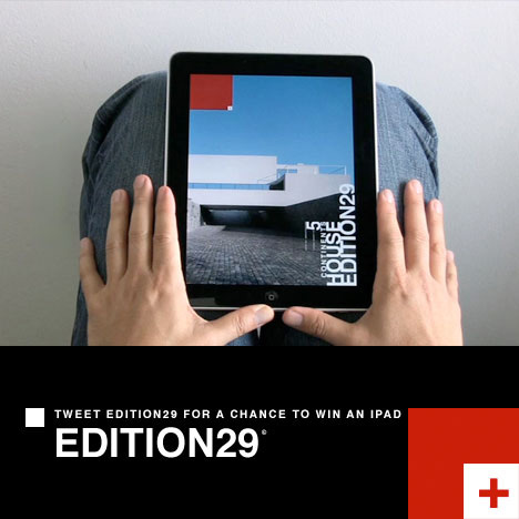 Tweet about Edition29 ARCHITECTURE to win an iPad