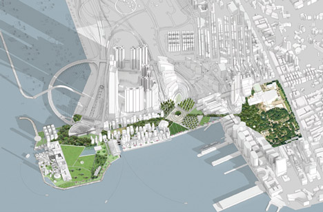 West Kowloon Cultural District by OMA