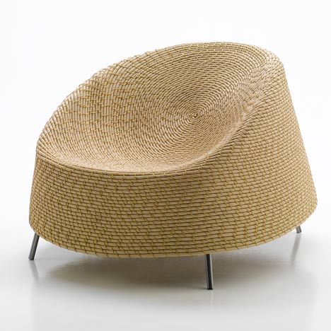 Paola Lenti Lecture With Luminaire At Outdoor Therapy Dezeen
