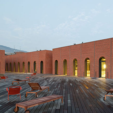 Alhondiga Cultural and Leisure Center by Philippe Starck