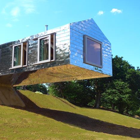 Balancing Barn by MVRDV and Mole Architects nears completion