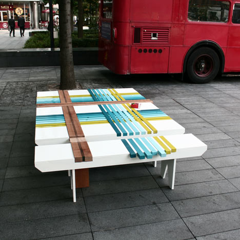 Bench by Raw Edges for Bench 10