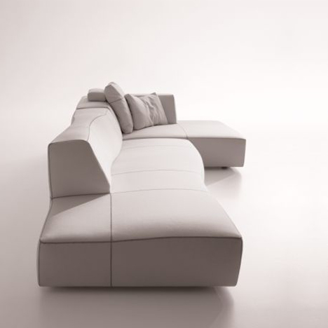 Bend-Sofa by Patricia Urquiola