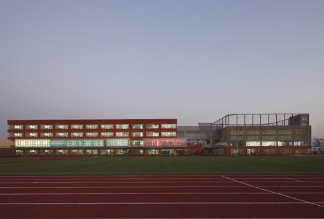 County Elementary School by Vector Architects