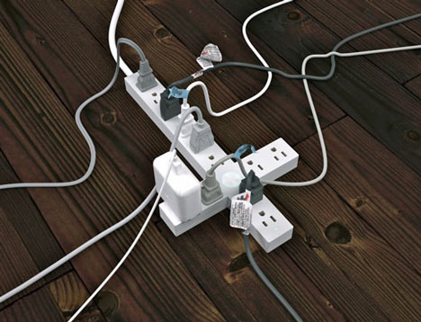 Crucifix Surge Protector by Means of Production