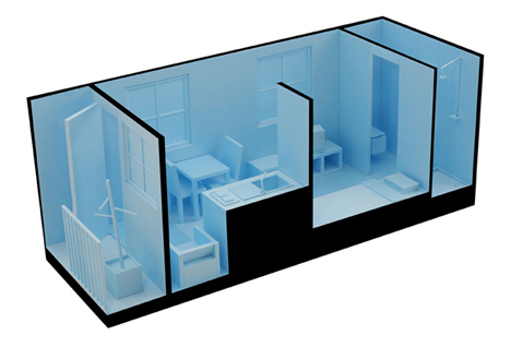 Dezeen x Design Association container competition winners 2010
