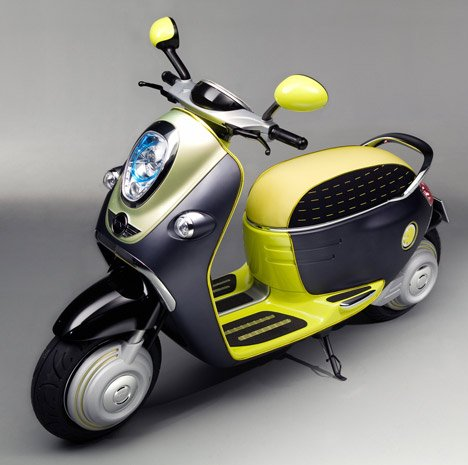 Architecture World  MINI Scooter E Concept