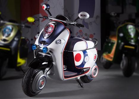 Mini Scooter E Concept Dezeen