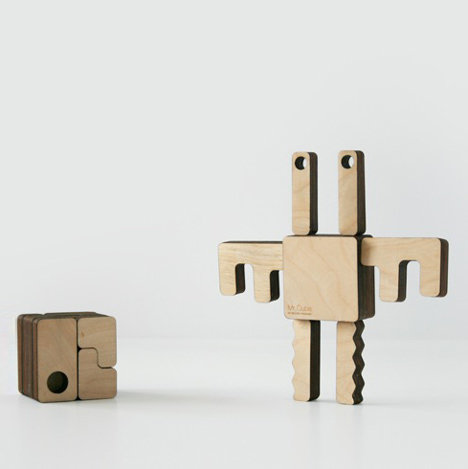 Mr Cube by Hector Serrano for Ten Plan at 100 Design London