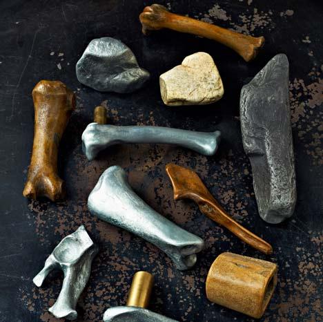 Sticks and Stones and Broken Bones handles by Studio Toogood for Izé