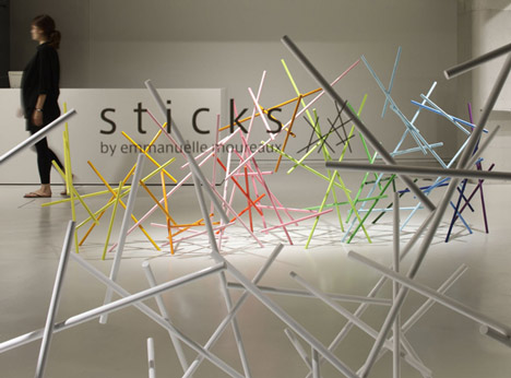 Sticks by Emmanuelle Moureaux for Issey Miyake