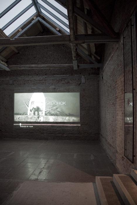 Russian pavilion at Venice Architecture Biennale