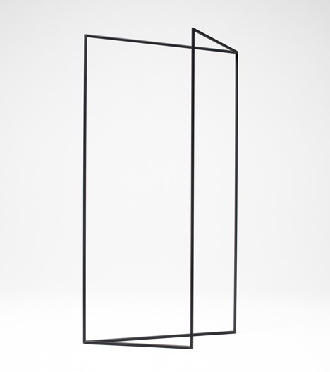 Thin Black Lines by Nendo