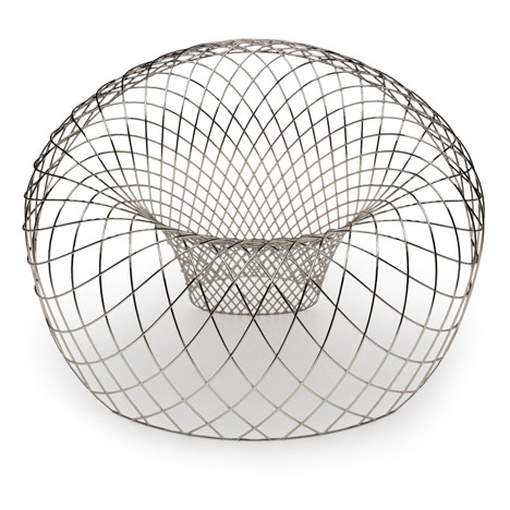 Reverb Wire Chair by Brodie Neill for The Apartment Gallery