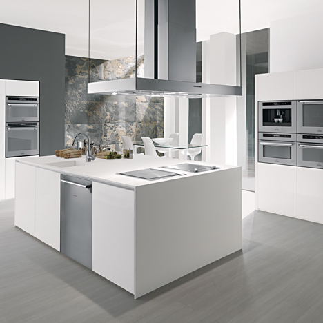 Scholtes stainless steel kitchen