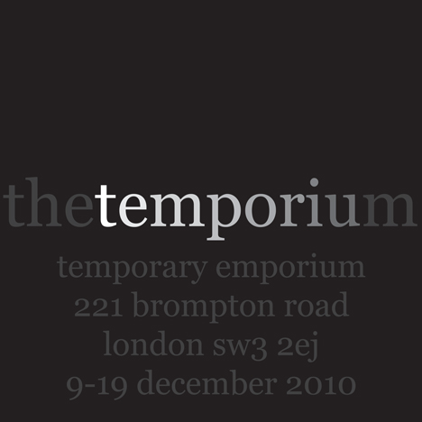 The Temporium logo plus text