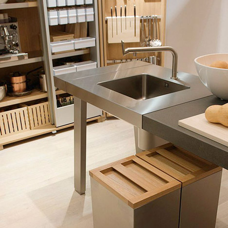 Bulthaup B2 kitchen Dezeen