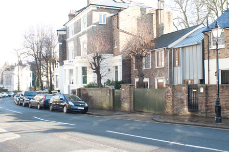 51A Gloucester Crescent by John Glew