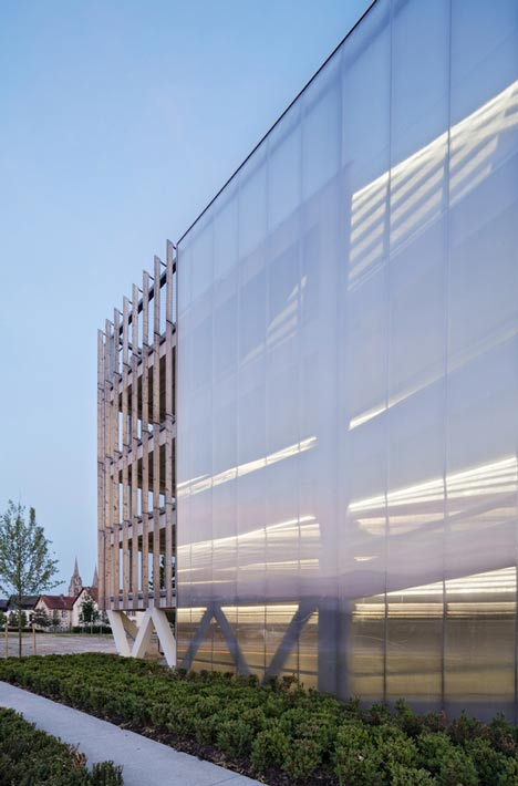 Car Park Designed by Jacques Ferrier Architecture