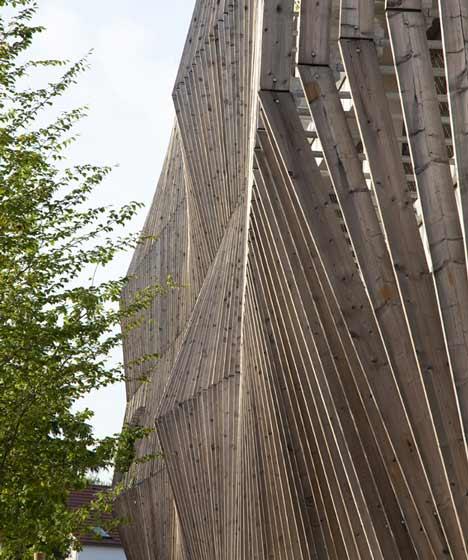 Car Park Designed by Jacques Ferrier Architecture